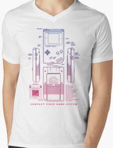 Game Kid Mens V-Neck T-Shirt