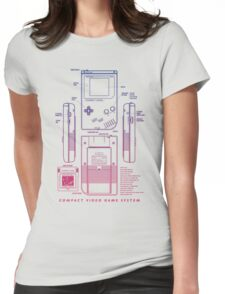 Game Kid Womens Fitted T-Shirt