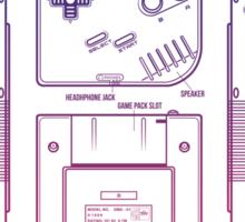 Game Kid Sticker