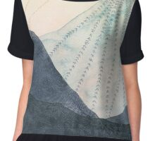 Wild On The Mountain Brow Chiffon Top