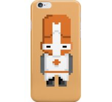 Castle Crashers (Orange Knight) Pixel  iPhone Case/Skin