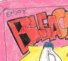 Bleach juice box (original pen and pencil) Sticker