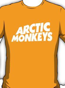 Arctic Monkeys WHITE LOGO T-Shirt