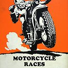 Motorcycle Races by Vintagee