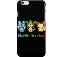 Hello Starters iPhone Case/Skin