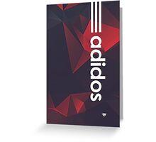 Adidas Greeting Card