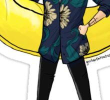banana boy Sticker