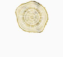Paper Birch – Gold Tree Rings Unisex T-Shirt