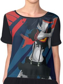 Kill la Kill Ryuko Matoi Simplist Artwork Chiffon Top