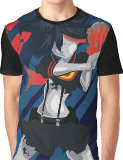 Kill la Kill Ryuko Matoi Simplist Artwork Graphic T-Shirt