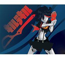 Kill la Kill Ryuko Matoi Simplist Artwork Photographic Print