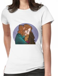 Sleepy Hollow- I forge my fate with you Womens Fitted T-Shirt