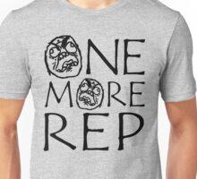 One More Rep (Gym Meme) Unisex T-Shirt