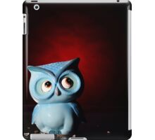 Owl In Red iPad Case/Skin