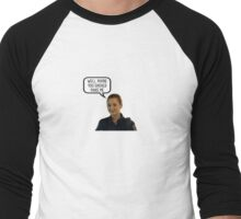 Well, maybe you should make me - Nicole Haught inspired by Wynonna Earp Men's Baseball ¾ T-Shirt