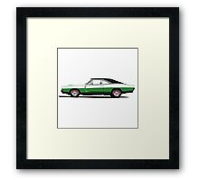 Dodge Charger R/T 426 Hemi (green) Framed Print