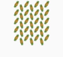 Genetically Engineered Pineapple Pattern Unisex T-Shirt