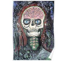 Brain Skull Poster