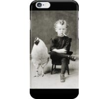 Smoking Child - black/white iPhone Case/Skin