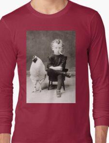 Smoking Child - black/white Long Sleeve T-Shirt