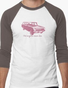 Old wagons never die (EH) Men's Baseball ¾ T-Shirt