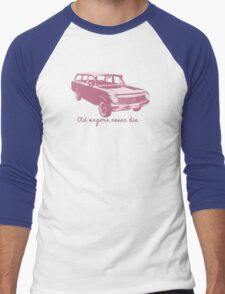 Old wagons never die (EH) Men's Baseball ¾ T-Shirt