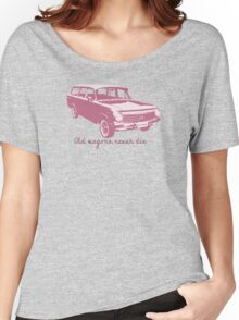 Old wagons never die (EH) Women's Relaxed Fit T-Shirt