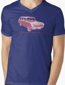 Old wagons never die (EH) Mens V-Neck T-Shirt