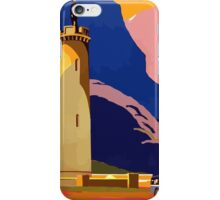 Scotland By S.M.T. Vintage Travel Poster iPhone Case/Skin