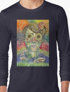 """""""All You Do Is Sit Inside"""" Long Sleeve T-Shirt"""