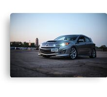 Mazdaspeed 3 Canvas Print