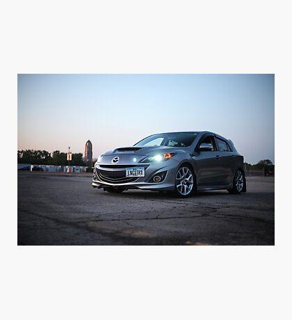 Mazdaspeed 3 Photographic Print