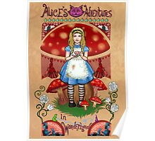 Alice, poster & shirt Poster