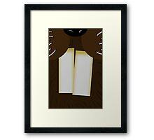 Mr Beaver Framed Print