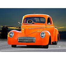 1941 Willys Coupe Photographic Print