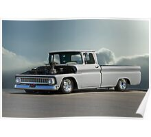1963 Chevy 'Low Rider' Pick-Up Poster