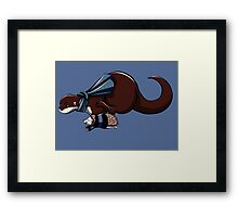Otterlock Framed Print