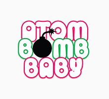 Atom Bomb BABY Graphic T Womens Fitted T-Shirt