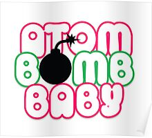 Atom Bomb BABY Graphic T Poster