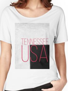 TENNESSEE USA Women's Relaxed Fit T-Shirt