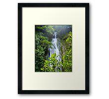 Cascades Waterfall - Vanuatu Framed Print
