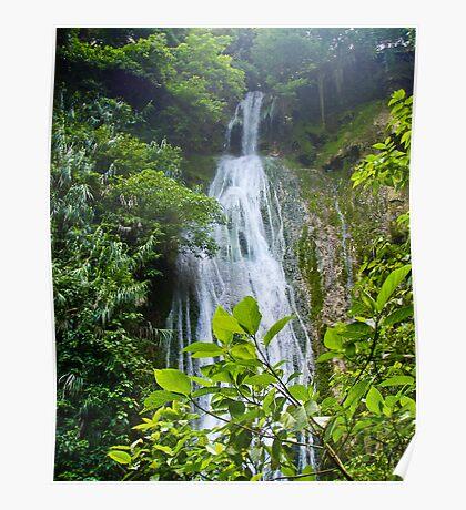 Cascades Waterfall - Vanuatu Poster