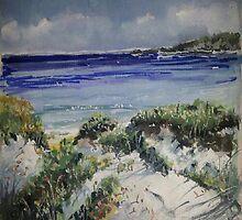 Little Bay Beach by artyfart8