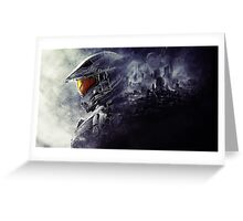 Master Chief Halo Greeting Card