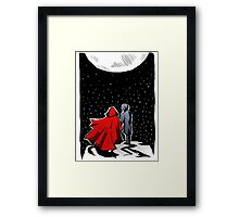 Under the Moon Framed Print
