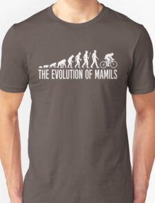 Cycling MAMIL Evolution Unisex T-Shirt