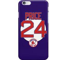 Rex Sox David Price 24 iPhone Case/Skin