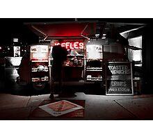Red Neon JAFFLES Photographic Print