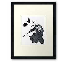 The Shadow of Dunwall Framed Print