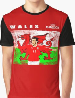WALES EURO 2016 Graphic T-Shirt